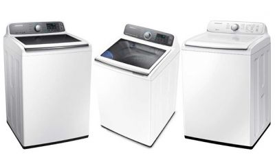 Retiro de lavadora  de ropa marca Samsung de carga superior debido a riesgo de lesión