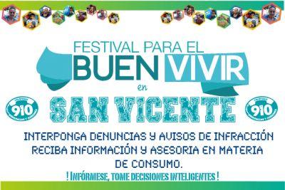 Invitación al Festival para el Buen Vivir en San Vicente