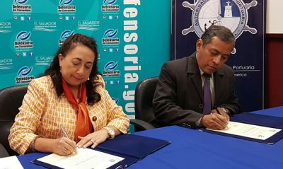 Defensoría del Consumidor y Autoridad Marítima Portuaria  firman Carta de Entendimiento a favor de consumidores