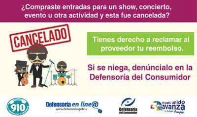 Defensoría del Consumidor inició procedimiento legal para garantizar reintegro  de dinero a consumidores que adquirieron boletos para concierto de Farruko