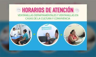 Conoce los horarios de atención en temas de consumo en las Gobernaciones Departamentales