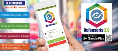 La Defensoría del Consumidor en tus manos   App Defensoría 2.0 facilitará atención y respuesta a consumidores